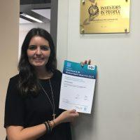 Hannah Foreman promoted to Recruiter and receives REC level 3 certification