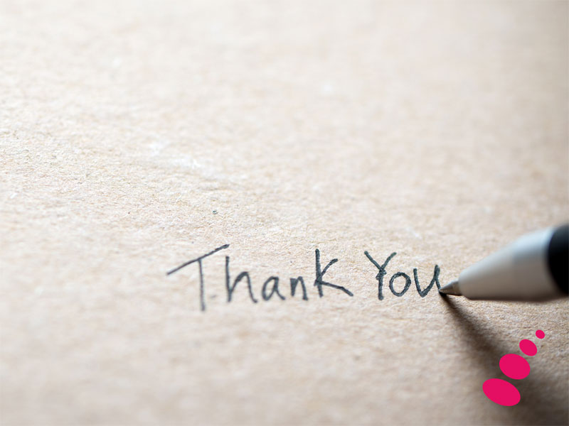 Blog of Thanks